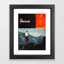 The Manual Framed Art Print