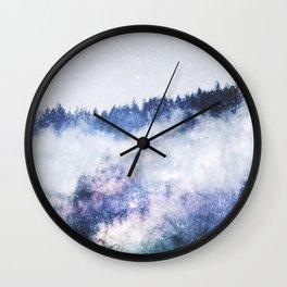 Galaxy Forest Wall Clock