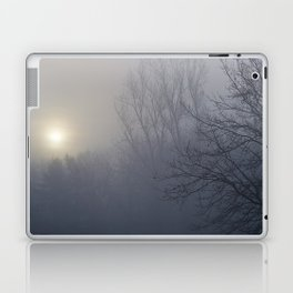 Foggy Morning by the River - The Peace Collection Laptop & iPad Skin