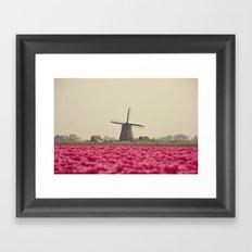 Postcard from Netherland Framed Art Print
