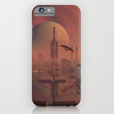 Futuristic City with Space Ships Slim Case iPhone 6s