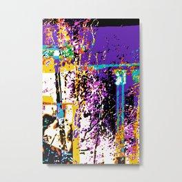 Colonnade Metal Print