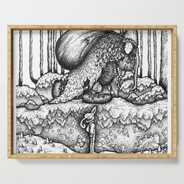 John Bauer Trollskog Serving Tray