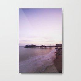 Cromer Pier Sunrise Metal Print