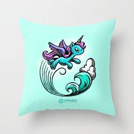 Kyrie the Unicorn Throw Pillow