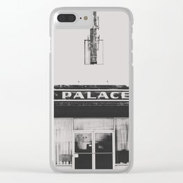 Palace Theater - Marfa, Texas Clear iPhone Case