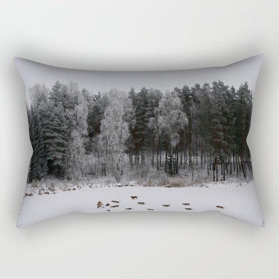 Winter's Tale Rectangular Pillow