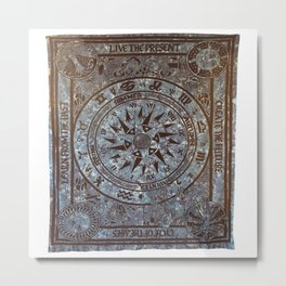 Stylish Indian Wall Hangings Tapestry Metal Print