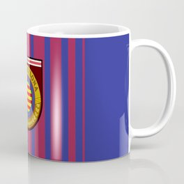 Catalonia Football Badge Coffee Mug
