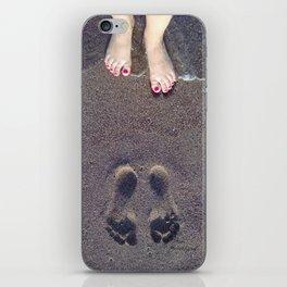 Footprint iPhone Skin