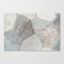 Natural Stone Wall Canvas Print