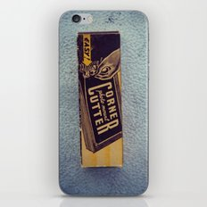 Vintage Corner Cutter iPhone & iPod Skin