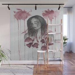 The Sharpest Rose Wall Mural