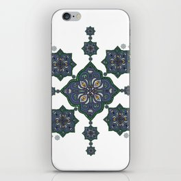 Lively Earth Mandala - v.3 iPhone Skin
