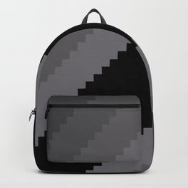 Pixel Old Hollywood Dremas - Monochrome Grey Backpack