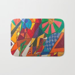 Two New Creatures Walk the Earth Bath Mat