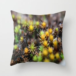 Weeds Throw Pillow