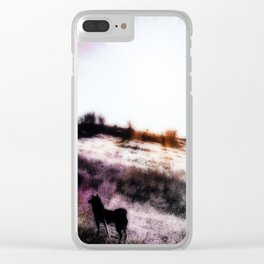Morning Beauty Clear iPhone Case