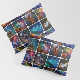 The Amazing Universe 2 - Collection of Space Imagery Pillow Sham