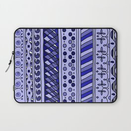 Yzor pattern 002 blue Laptop Sleeve