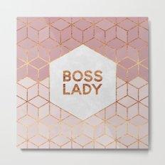 Boss Lady / 2 Metal Print