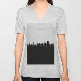 City Skylines: Durban Unisex V-Neck