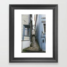 Bergen Alley Framed Art Print