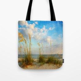 Sea Oats along the Beach Tote Bag