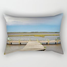Come And Share The View Rectangular Pillow