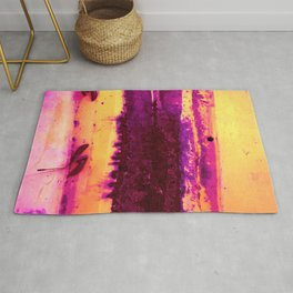 Rusted Middle Sunset Hues Rug