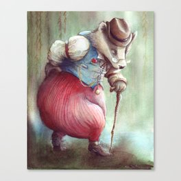 Mr. Badger - The Wind in the Willows Canvas Print