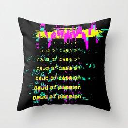 baud Throw Pillow