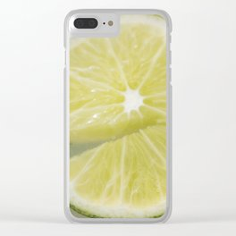 Broken Lime Clear iPhone Case