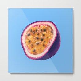 Pasion Fruit Metal Print