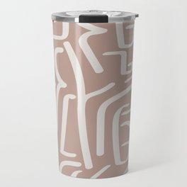Calligraffiti | Bisque + Bone Travel Mug