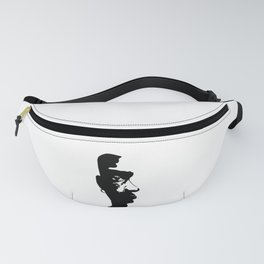 BLACK AND ART ARE BEAUTIFUL Fanny Pack