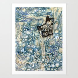 Wild Boar of the Mountains Art Print