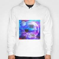 paradise Hoodies featuring paradise by haroulita