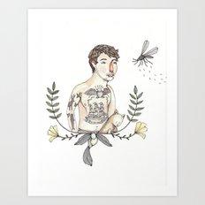 Peter's Portrait Art Print