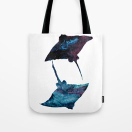Dueling Rays Tote Bag