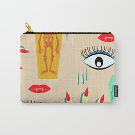 Halloween makeup Carry-All Pouch