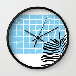 Swimming pool Wall Clock