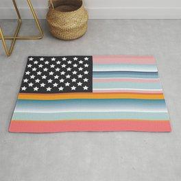 Serape Flag Rug