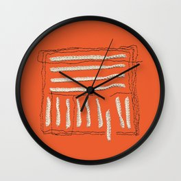 Yarns - Out of the box Wall Clock