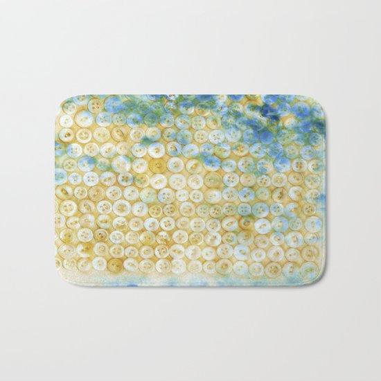 Buttons  - JUSTART ©, digital art Bath Mat