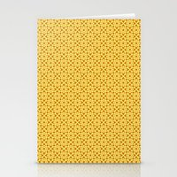 yellow pattern Stationery Cards featuring yellow pattern by Artemio Studio