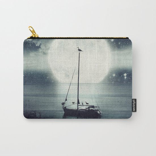 A Journey Under A Starry Night Sky Carry-All Pouch