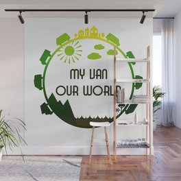 My Van Our World - Forest Wall Mural