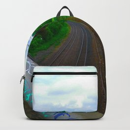 Train Tracks Backpack