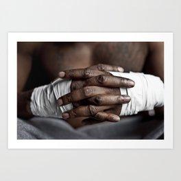 Strong Hands Art Print